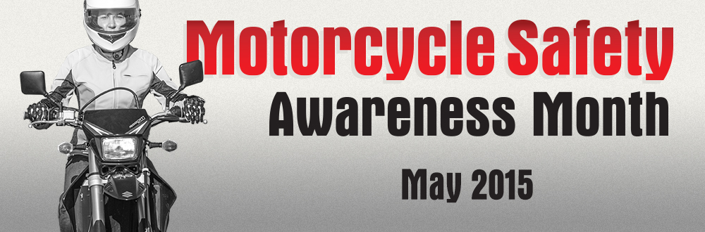 Banner Motorcycle Safety Awareness Month